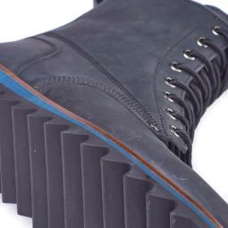 Dickies Eureka Springs men blue ankle boot
