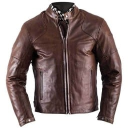 Motorcycle Leather \nJacket HELSTONS Heat Brown ,Leather Motorcycle Jackets