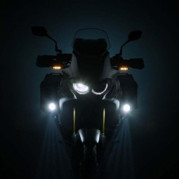 Sw Motech EVO high beam motorcycle spotlights