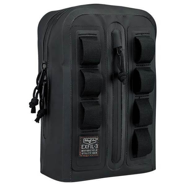 Biltwell Exfil-3 motorcycle handlebar bag
