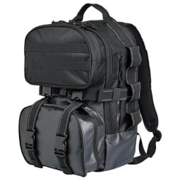 Biltwell Exfil-48 bag black motorcycle backpack