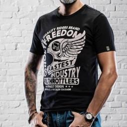 T-shirt Holy Freedom Casco Alato