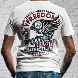 Holy Freedom T-shirt Helmet White