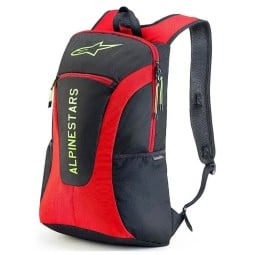 Alpinestars GFX motorcycle backpack red