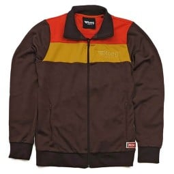 Roeg Greg Track brown motorcycle jacket