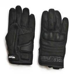 Gants moto Roeg FNGR All-Leather noir