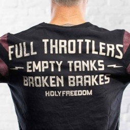 Holy Freedom Fullthrottle T-shirt manches longues