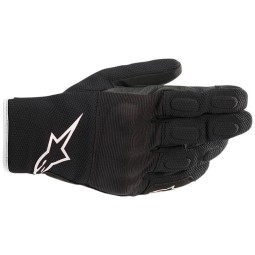 Alpinestars S-MAX Drystar gloves black white