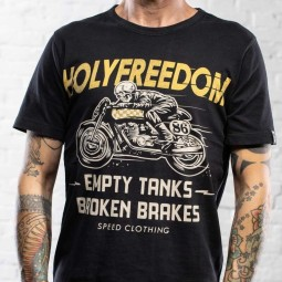 T-shirt Holy Freedom Ghost Rider noir