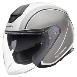 Schuberth M1 Pro Outline jet helmet grey