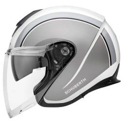 Casco jet Schuberth M1 Pro Outline gris