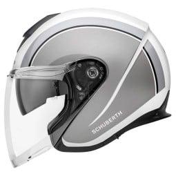 Schuberth M1 Pro Outline Jet helm grau