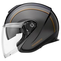 Schuberth M1 Pro Outline casco jet nero