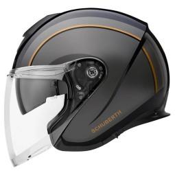 Schuberth M1 Pro Outline Jet helm schwarz
