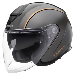 Casco jet Schuberth M1 Pro Outline negro