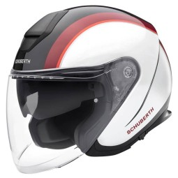 Schuberth M1 Pro Outline casque jet rouge