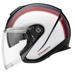 Schuberth M1 Pro Outline jet helmet red