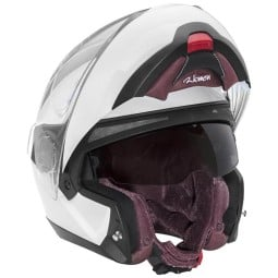 Casco Schuberth C4 Pro Women flip-up blanco