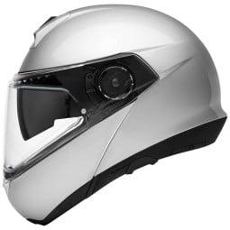 Schuberth C4 Pro flip-up helmet silver