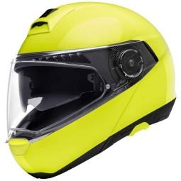 Casque Schuberth C4 Pro modulable jaune fluo
