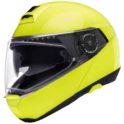 Schuberth C4 Pro flip-up helmet fluo yellow