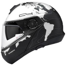 Schuberth C4 Pro Magnitudo flip-up helmet white
