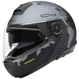 Casco Schuberth C4 Pro Magnitudo flip-up negro