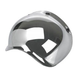 Helmvisier Biltwell Bonanza Bubble Chrome Mirror