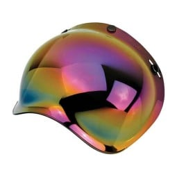 Helmvisier Biltwell Bonanza Bubble Rainbow Mirror