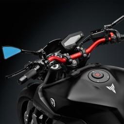 Rizoma Tankdeckel Yamaha schwarz