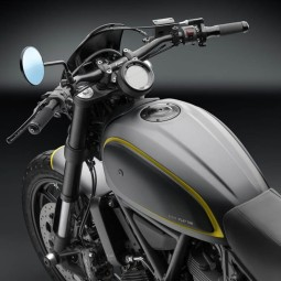 Rizoma Gas tank cap Café Racer Ducati Scrambler