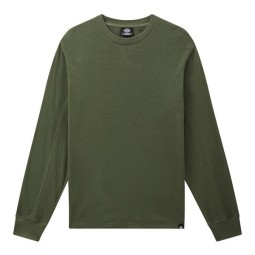 Dickies Zwolle Waffle military green sweater