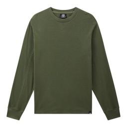 Dickies Zwolle Waffle suéter verde militar