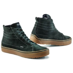Zapatos moto TCX Street 3 WP verde