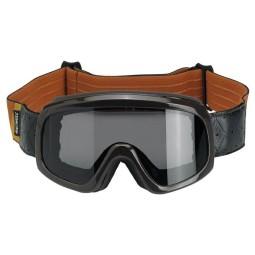 Motorradbrille Biltwell Overland 2.0 Tri Stripe braun
