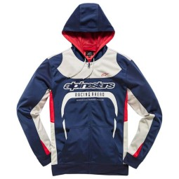 Alpinestars Sessions zip hoodie blue