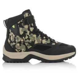 Chaussures Alpinestars CR-6 Drystar camo vert