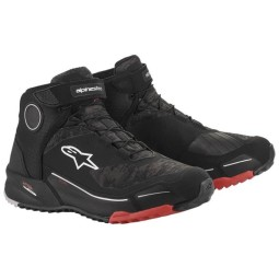 Chaussures Alpinestars CR-X Drystar camo rouge noir
