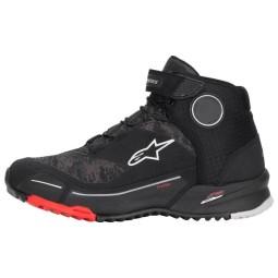 Zapatos Alpinestars CR-X Drystar camo rojo negro