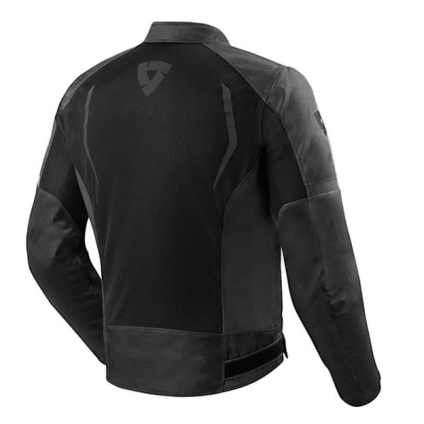 Motorcycle Fabric Jacket REVIT Torque Black