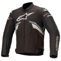 Alpinestars T-GP Plus R V3 schwarz grau Jacke