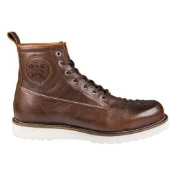 Zapatos moto John Doe Iron XTM marron
