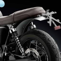 Rizoma garde-boue arrière Triumph Bonneville T120 noir
