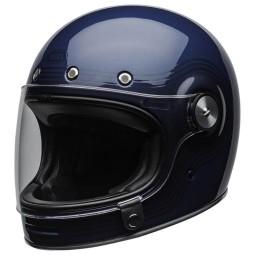 Bell Bullitt Flow DLX bleu casque moto