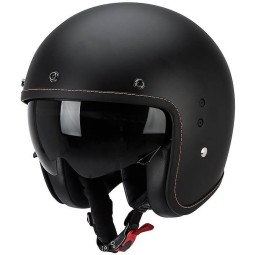 Casco moto Scorpion Belfast negro mate