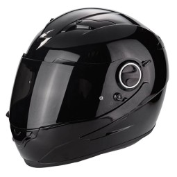 Casque Scorpion Exo-490 Solid noir brillant