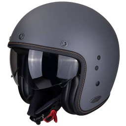 Casco moto Scorpion Belfast gris mate
