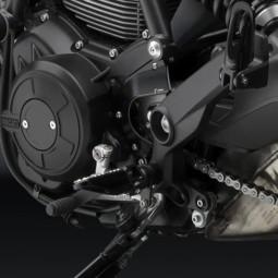 Carter pignon Ducati Scrambler Rizoma noir