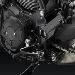 Tapa piñón Rizoma Ducati Scrambler negro