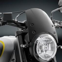 Cúpula Ducati Scrambler Rizoma negro
